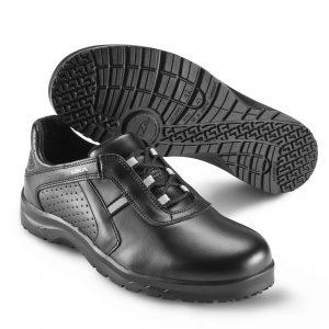 работни обувки с връзки Сика / Sika Footwear Fusion - черни от естествена кожа