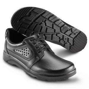 работни обувки с връзки Сика / Sika Footwear Optimax 172000 черни от естествена кожа