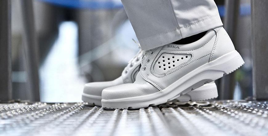 бели работни обувки за кухня Sika Footwear
