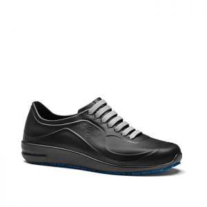 професионални работни обувки УеърърТек / WearerTech Energise черни поглед отпред