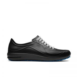 професионални работни обувки УеърърТек / WearerTech Energise черни поглед отстрани