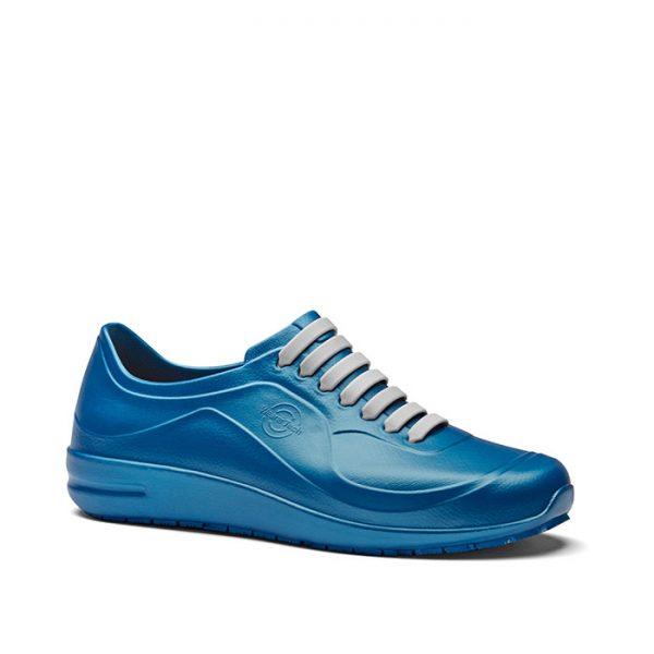 професионални работни обувки УеърърТек / WearerTech Energise сини поглед отпред