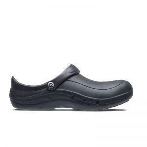 професионални работни обувки УеърърТек / WearerTech EziProtekta - черни поглед отстрани