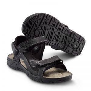 Работни сандали Сика / Sika Footwear Motion Sandal - черни от набук