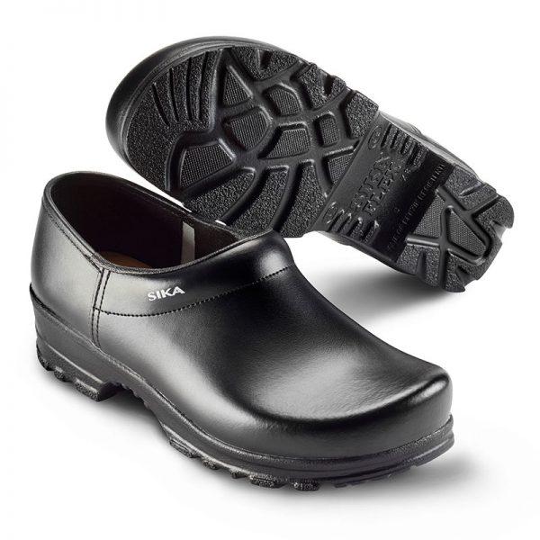 работно сабо Сика / Sika Footwear Flex LBS 8005 - затворено, черно