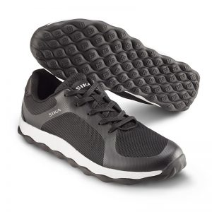Спортни работни обувки Сика / Sika Footwear Move от микрофибър в черно и бяло