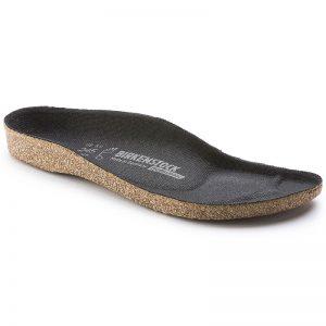 резервни коркови стелки за работни обувки Биркенщок / Birkenstock Super-Birki страничен поглед отпред