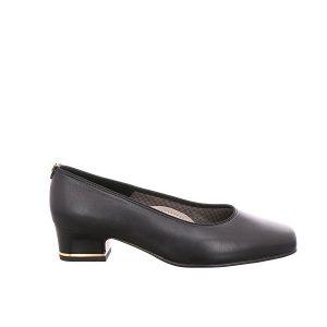 Дамски обувки на ток Ара / ara 12-41859-01 - ест. кожа, черни външен поглед отстрани