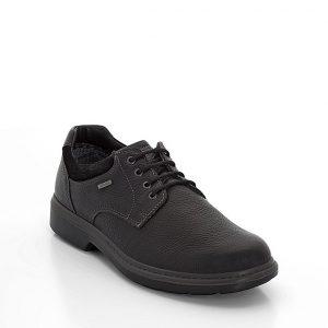 Мъжки кожени обувки Ара / ara GTX 11-24401-11 с Gore-Tex технология страничен поглед отпред