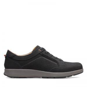 Мъжки ежедневни обувки Кларкс / Un Trail Form - черни поглед отстрани