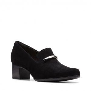 Дамски обувки на ток Кларкс / Clarks Un Damson Lane външен поглед отпред