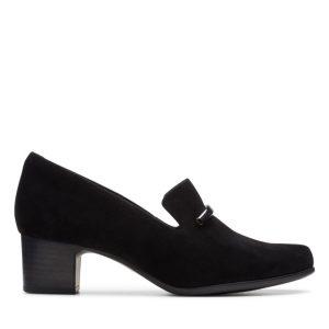 Дамски обувки на ток Кларкс / Clarks Un Damson Lane поглед отстрани