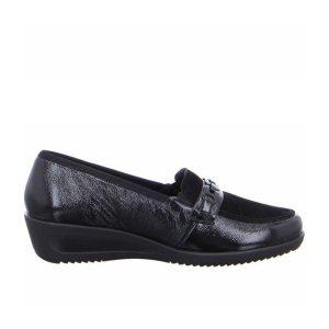 дамски ежедневни кожени обувки с топла подплата Ара / ara 12-40623-61 поглед отстрани