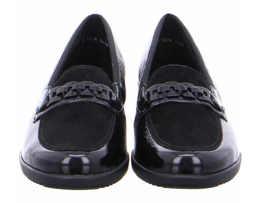 чифт дамски ежедневни кожени обувки с топла подплата Ара / ara 12-40623-61 поглед отпред