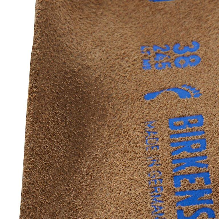 технологии на оригиналната подметка Birkenstock омекотен вариант - детайл обло стъпало