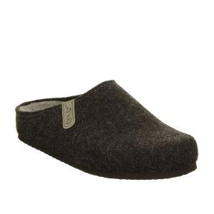 мъжки чехли от вълнен филц с топла подплата Ара / ara 15-29915-07 кафяви