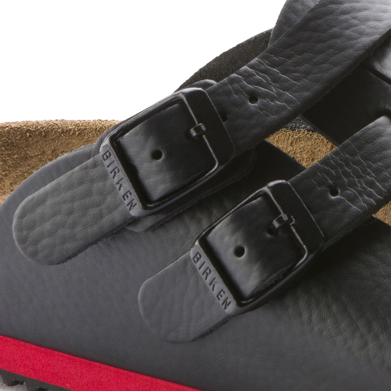 професионални работни чехли с мека подметка Биркенщок / Birkenstock Kay SL детайл катарами