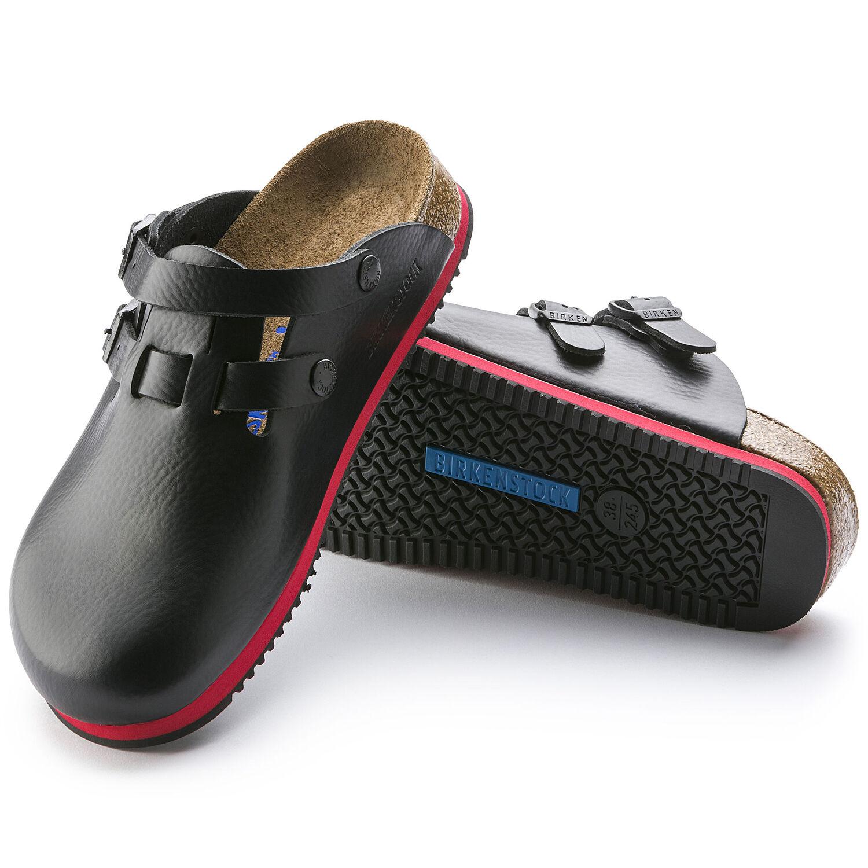 професионални работни чехли с мека подметка Биркенщок / Birkenstock Kay SL детайл подметка
