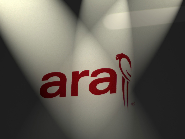 логото на обувките ara®