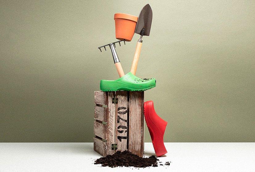 професионални работни обувки BirkenStock за градинарки нужди