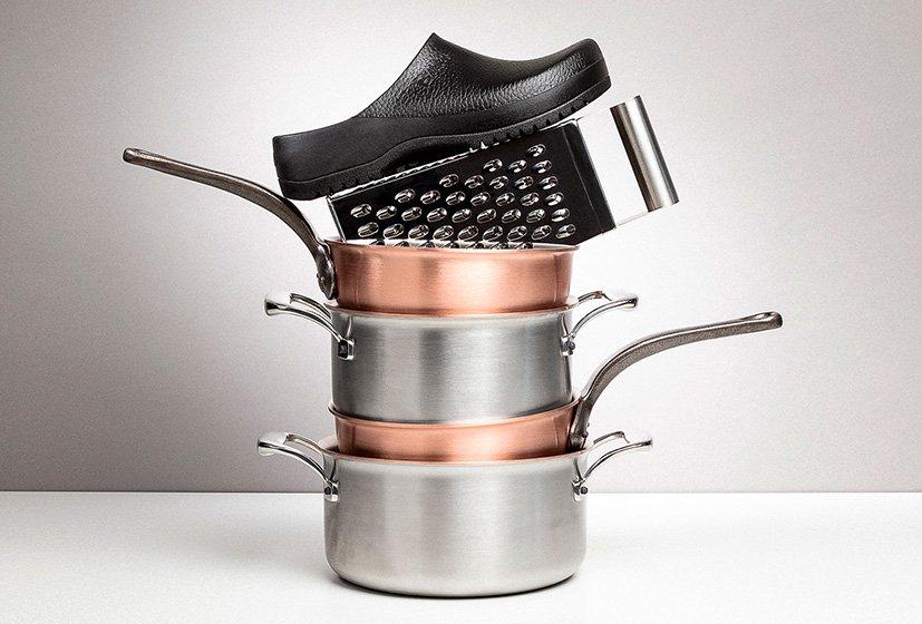 професионални работни обувки BirkenStock за работа в кухня