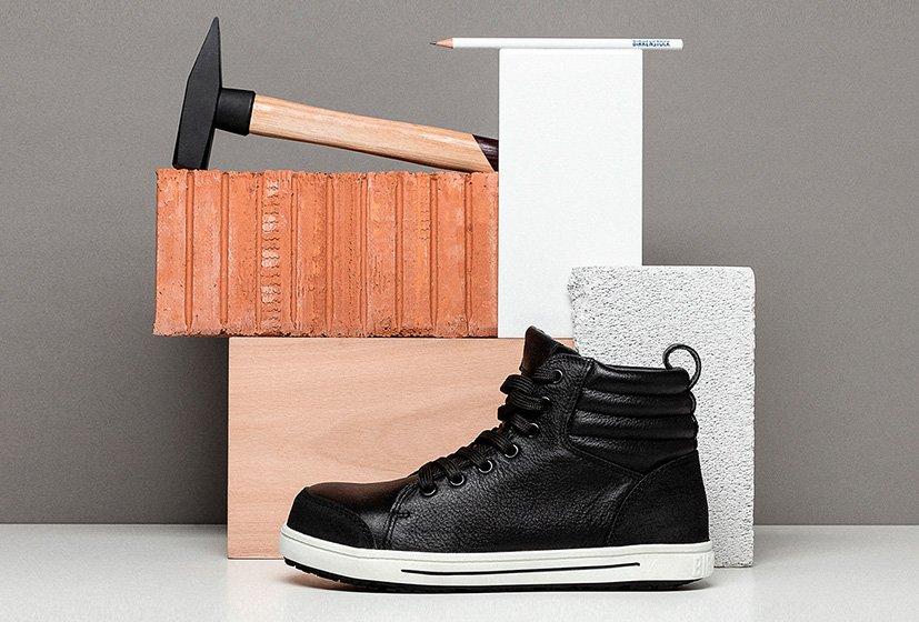 професионални работни обувки BirkenStock за строителството