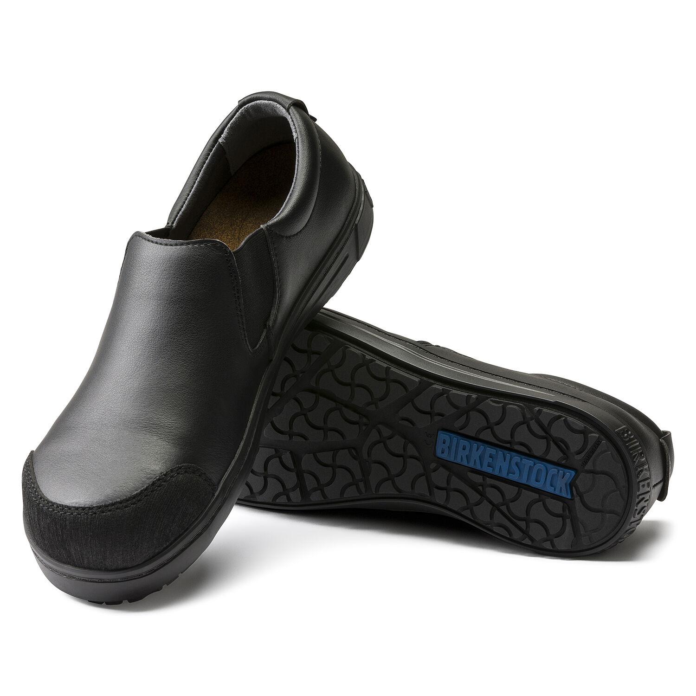 чифт професионални работни обувки без връзки с ластик BirkenStock QS 400 подметка