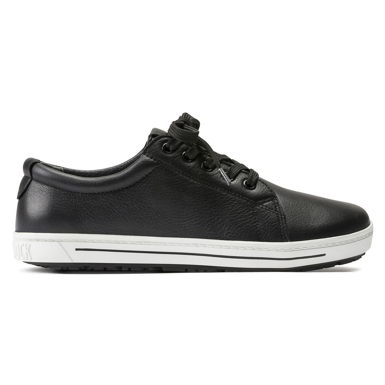 професионални работни обувки от ест. кожа Биркенщок / Birkenstock QO 500 NL черни поглед отстрани