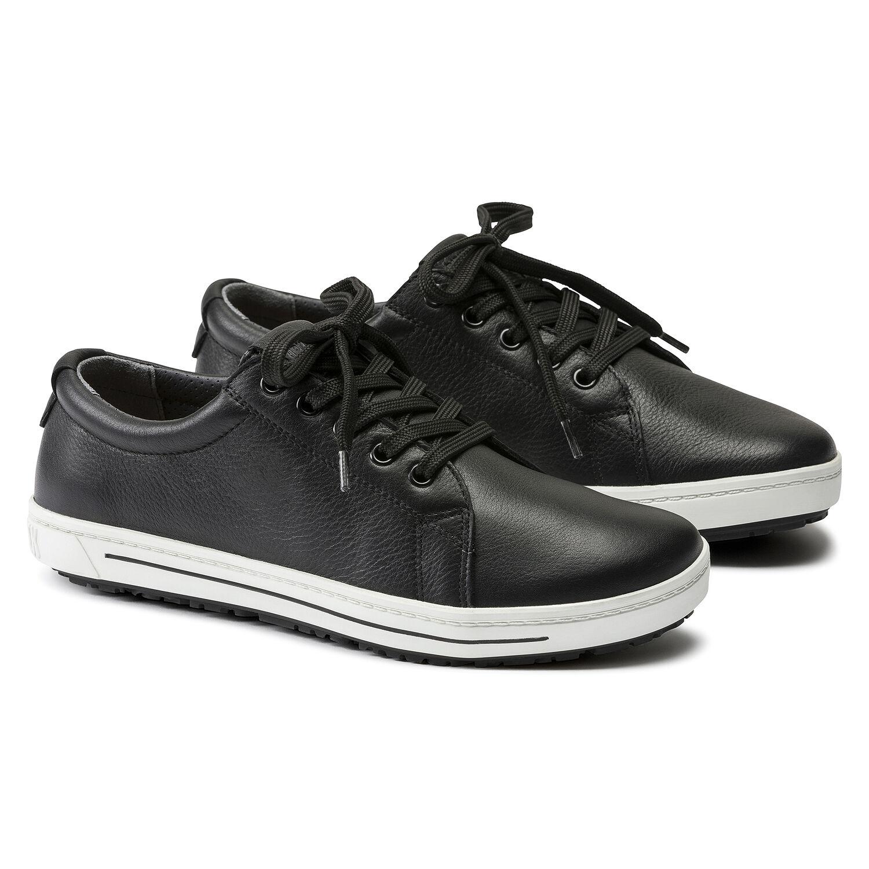 чифт професионални работни обувки от ест. кожа Биркенщок / Birkenstock QO 500 NL черни
