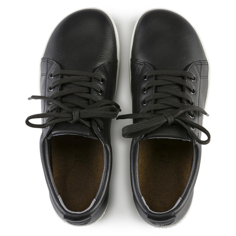 чифт професионални работни обувки от ест. кожа Биркенщок / Birkenstock QO 500 NL черни поглед отдолу