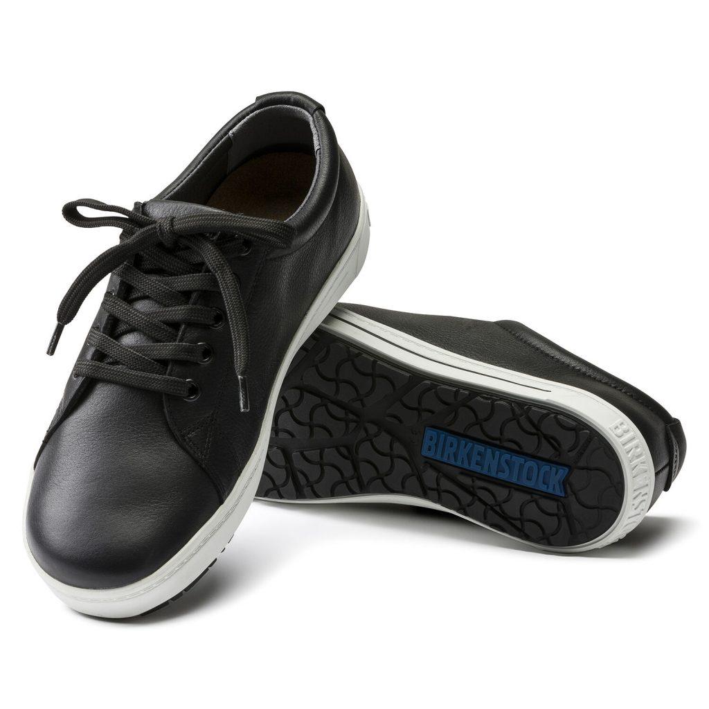 чифт професионални работни обувки от ест. кожа Биркенщок / Birkenstock QO 500 NL черни подметка