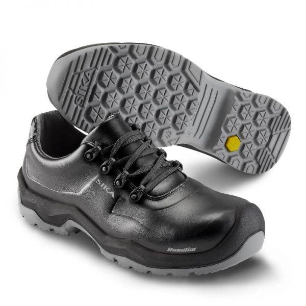 черни работни обувки Сика / Sika Footwear 202210 Premier - кожени, серия Highline