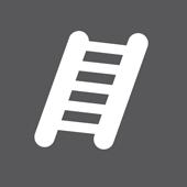 знак за технология против подлъзване при катерене по стълба