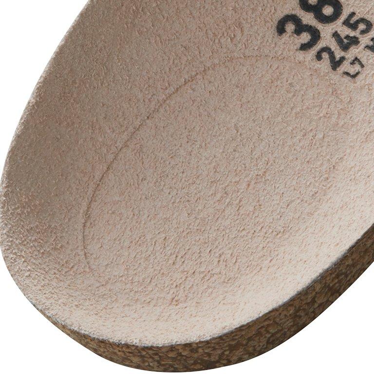 детайл дълбоко легло за петата на стелка Birkenstock на модел QO 500 NL