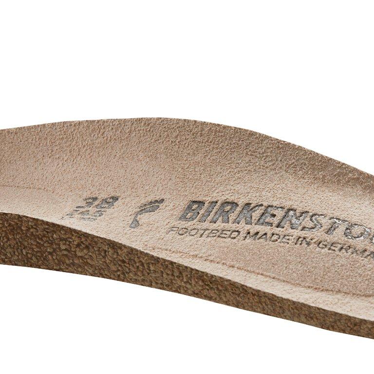 детайл вътрешна и външна надлъжна арка на стелка Birkenstock на модел QO 500 NL