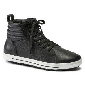високи професионални обувки от ест. кожа Биркенщок / Birkenstock QO 700 NL поглед отпред