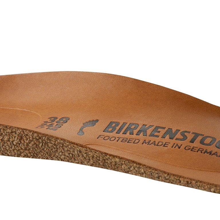 детайл вътрешна и външна надлъжна арка на стелка на професионални обувки от ест. кожа Birkenstock QO 700 NL