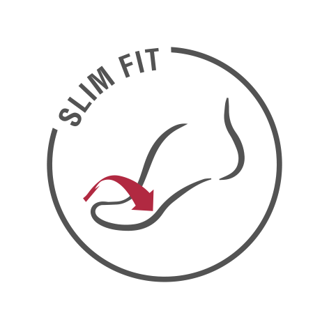 обувки ara - знак за Slim Fit дизайн