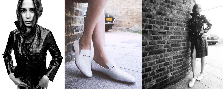 корица на дамски модели обувки Clarks