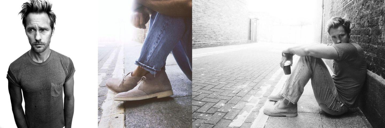 корица на мъжки модели обувки Clarks