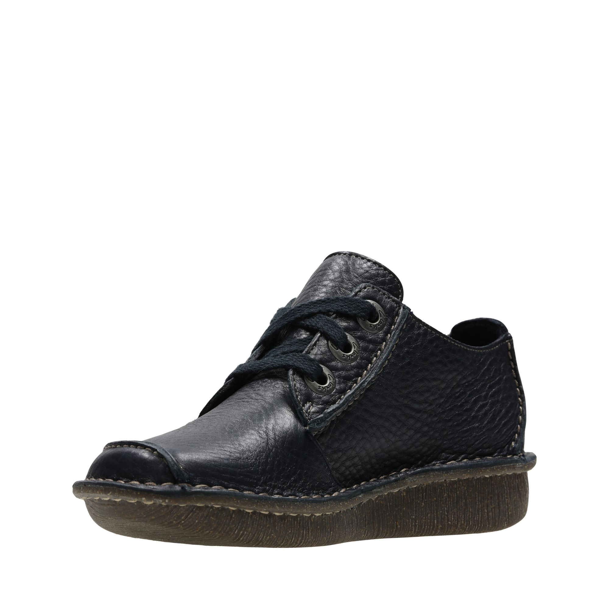 Дамски обувки Clarks Funny Dream тъмно сини - снимка 4