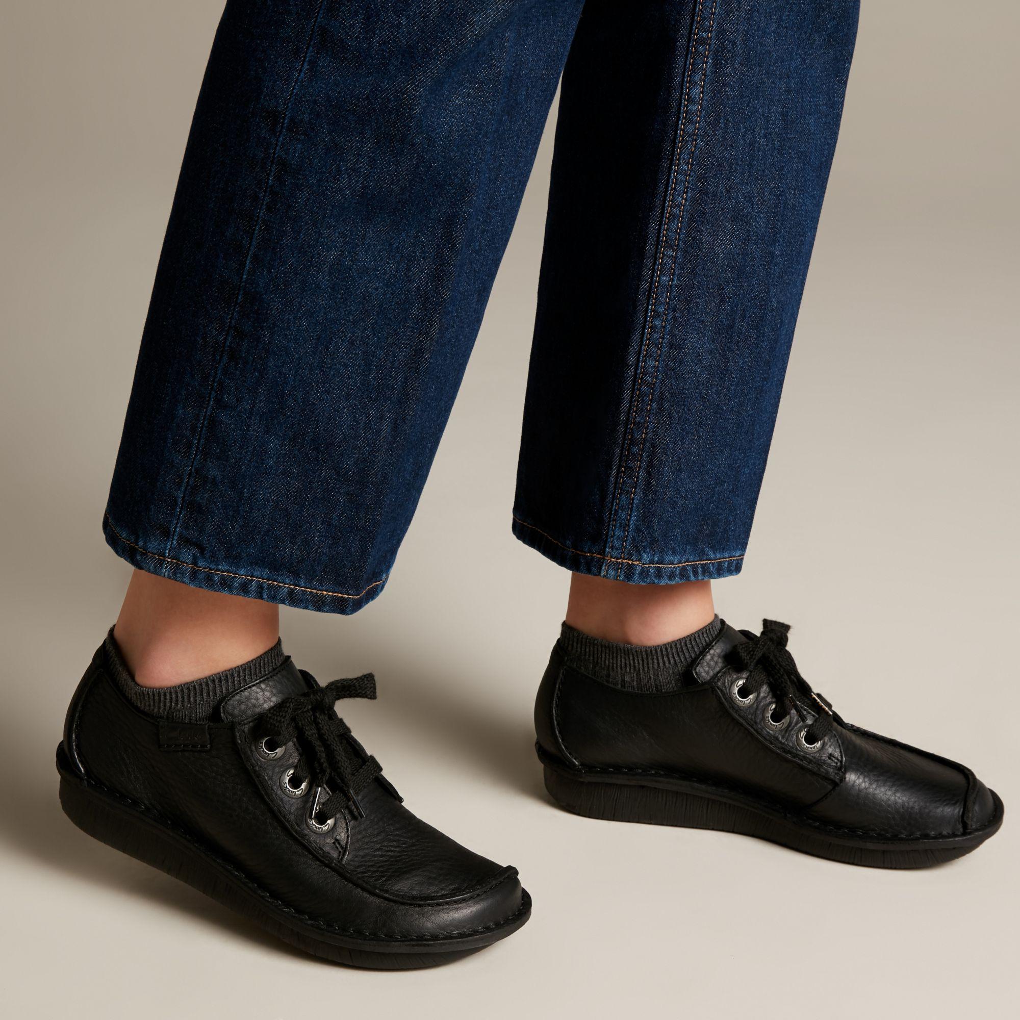 Дамски обувки Clarks Funny Dream черни - снимка 8