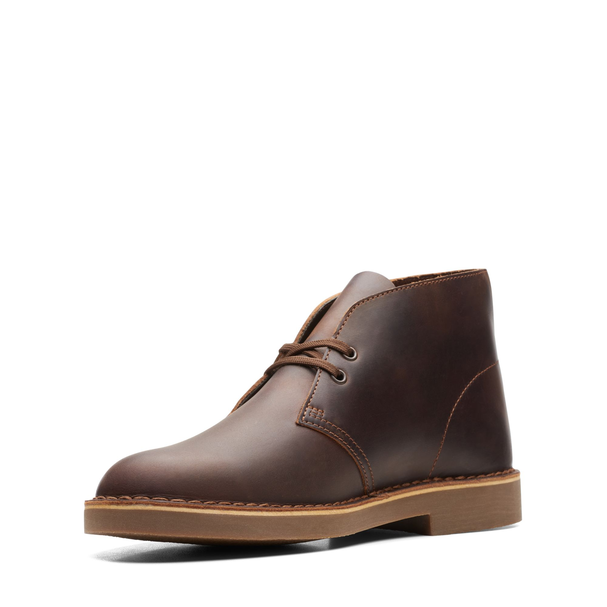 Класически унисекс обувки Clarks Desert Boot 2 Beeswax Leather - снимка 4