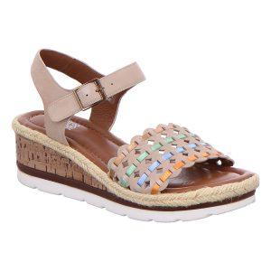 Дамски сандали на платформа Ара / ara 12-28404-06 кафяви - снимка 1