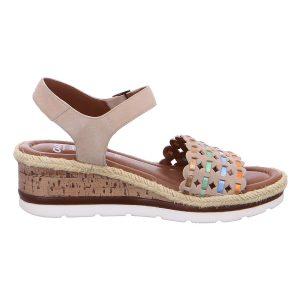 Дамски сандали на платформа Ара / ara 12-28404-06 кафяви - снимка 2