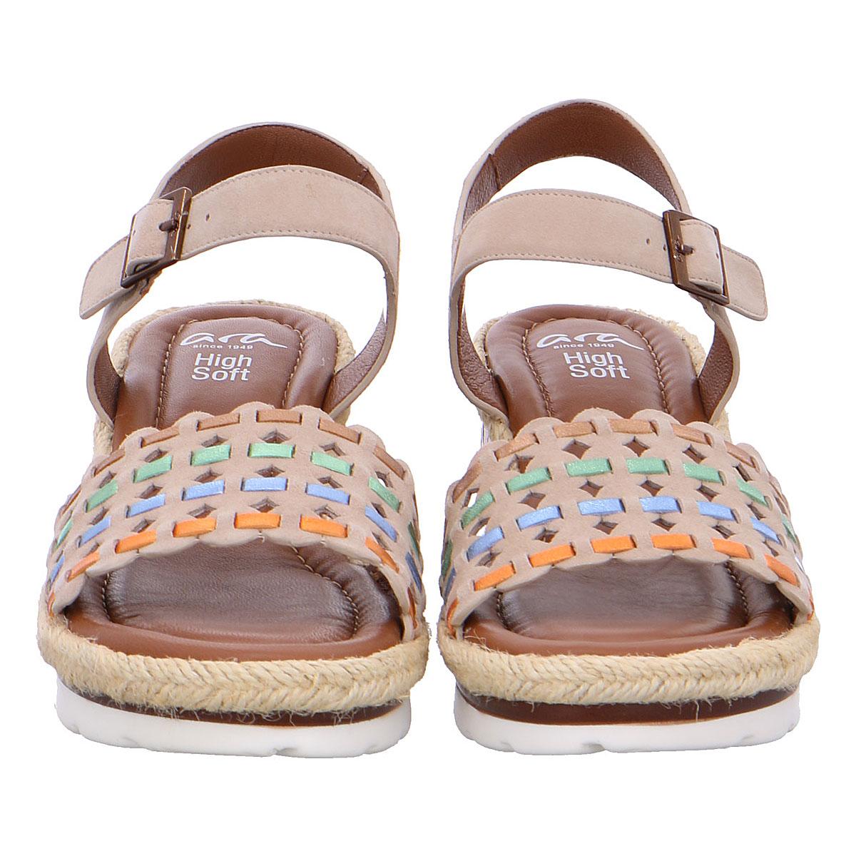 Дамски сандали на платформа Ара / ara 12-28404-06 кафяви - снимка 5
