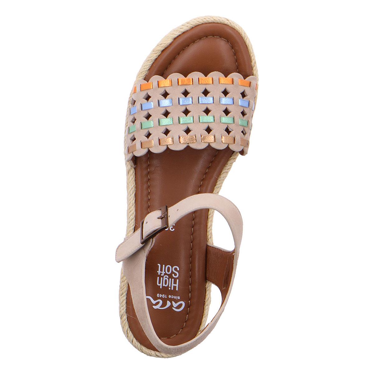 Дамски сандали на платформа Ара / ara 12-28404-06 кафяви - снимка 6