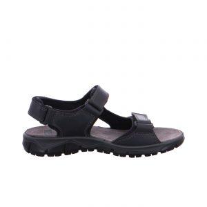 Мъжки спортни кожени сандали ara 11-38026-01 черни - снимка 2