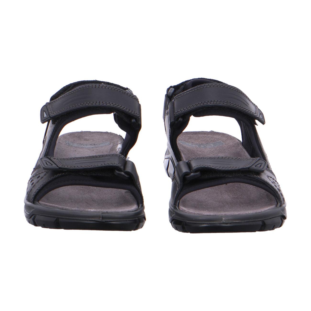 Мъжки спортни кожени сандали ara 11-38026-01 черни - снимка 6
