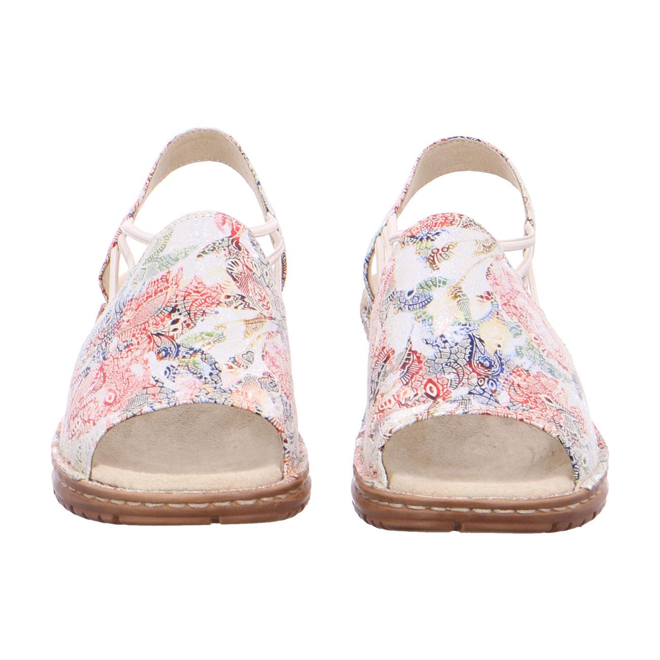 Дамски сандали с ластици Ara Hawaii multi 12-27241-73 шарени - снимка 6